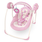 Детское кресло-качеля Bright Starts Comfort & Harmony, Portable Swing, Florabella (60008)