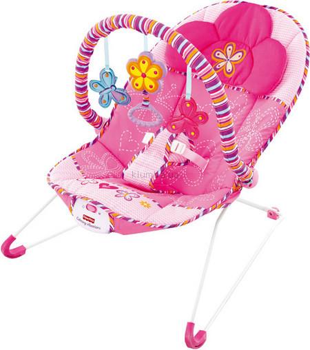 Детское кресло-качеля Fisher Price Розовые сны (t5051)