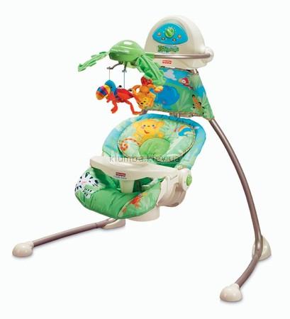 Детское кресло-качеля Fisher Price Джунгли (k6077)