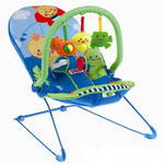 Детское кресло-качеля Fisher Price Первые друзья (m7344)