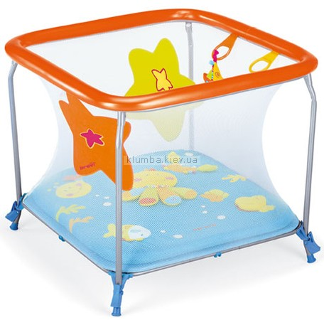 Детский манеж Brevi Soft and Play Blue Sea