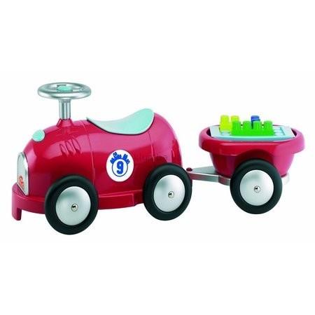 Детская машинка Smoby Машина  с прицепом и конструктором