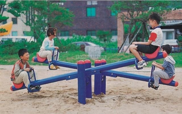 Детская площадка Inteco 2100J (качели-балансиры)
