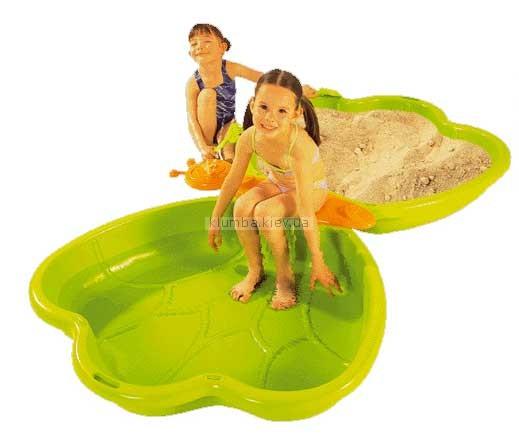 Детская площадка Smoby Песочница-бассейн Бабочка