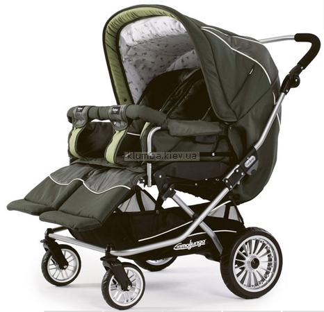 Детская коляска Emmaljunga Twin Nitro