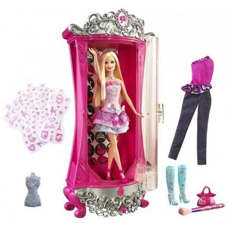 Детская игрушка Barbie Барби Гардероб