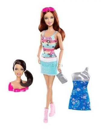 Детская игрушка Barbie Барби Модница 2 в 1, Измени стиль