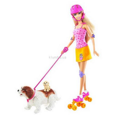 Детская игрушка Barbie Barbie с набором Парк для щенков