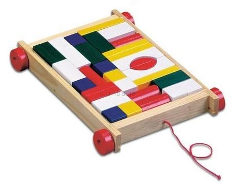 Детская игрушка Bino Тележка с формами
