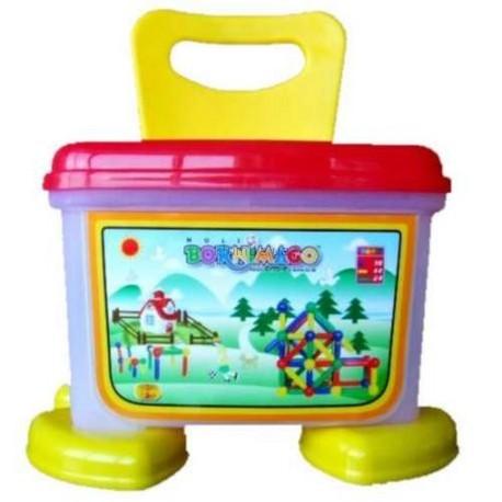 Детская игрушка Bornimago Магнитный конструктор  (100 деталей)