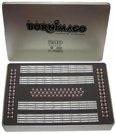 Детская игрушка Bornimago Магнитный конструктор (240 деталей)