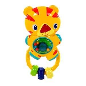 Детская игрушка Bright Starts Погремушка Тигр со звуком и светом