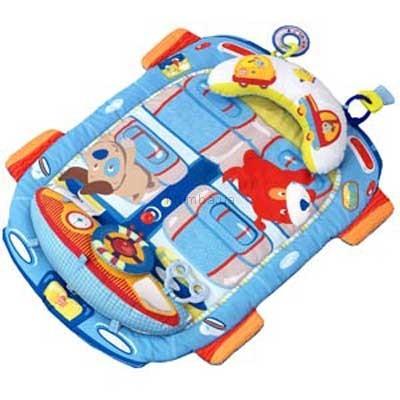 Детская игрушка Bright Starts Tummy Cruiser (Машинка, розовая или голубая)
