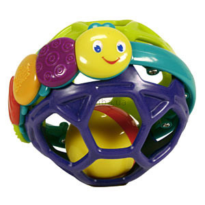 Детская игрушка Bright Starts Звонкий мягкий мячик