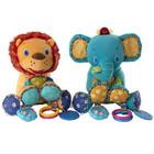 Детская игрушка Bright Starts Bunch-o-Fun (Подвесные плюшевые животные)