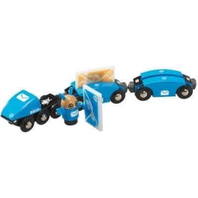 Детская игрушка Brio Поезд почтальона Емо