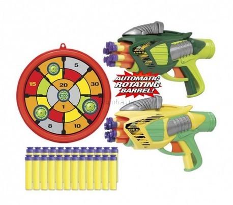 Детская игрушка Buzz BeeToy Помповое оружие Twin Tek 6