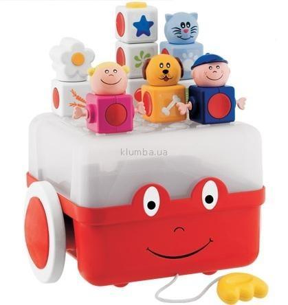 Детская игрушка Chicco Сундук с кубиками