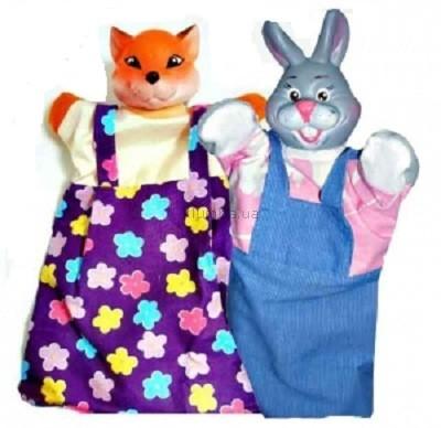 Детская игрушка ЧудиСам Набор для кукольного театра Лиса и Заяц