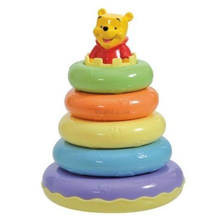 Детская игрушка Clementoni Пирамидка Винни Пух, Дисней