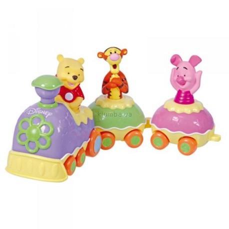 Детская игрушка Clementoni Поезд с Винни Пухом и друзьями