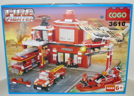 Детская игрушка Cogo Пожарная станция