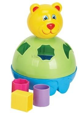 Детская игрушка Devik Play Joy Сортер медвежонок Тедди