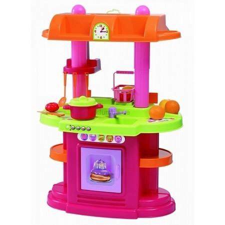 Детская игрушка Ecoiffier (Smoby) Кухня-магазин с весами, посудой, продуктами
