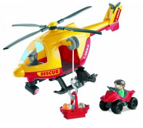 Детская игрушка Ecoiffier (Smoby) Спасательный самолет с командой