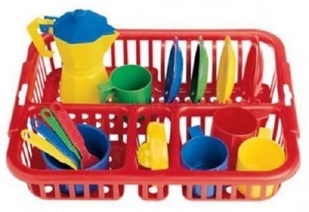 Детская игрушка Faro Набор  посуды Веселый лоточек