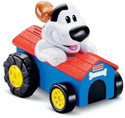 Детская игрушка Fisher Price Заводная машинка-щенок
