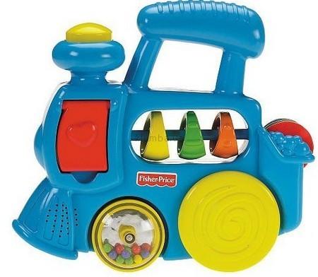 Детская игрушка Fisher Price Музыкальный паровозик