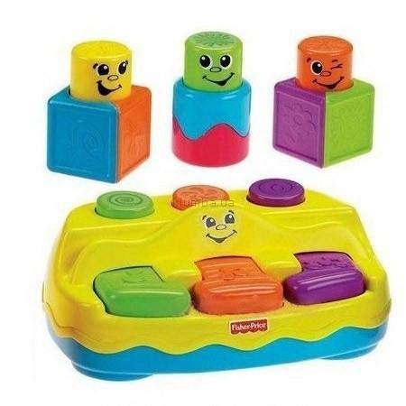 Детская игрушка Fisher Price Забавные кубики-блоки, Пианино