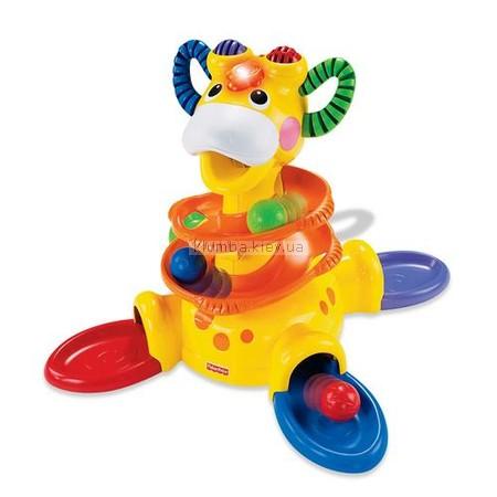 Детская игрушка Fisher Price Веселый жираф