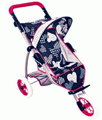 Детская игрушка Grand Soleil Коляска  Joy Trial Blu Love
