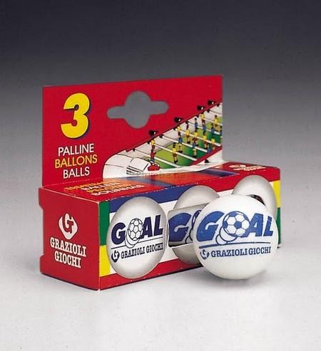 Детская игрушка Grand Soleil Мячики для настольного футбола  Set 3 Palline Goal
