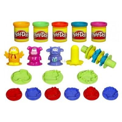Детская игрушка Hasbro Набор пластилина Плоское ведро Play-doh