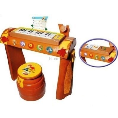 Детская игрушка IMC Пианино с табуретом Winnie The Pooh