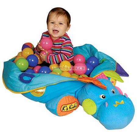 Детская игрушка K's Kids Бассейн с шариками  Дракоша