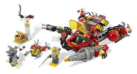 Детская игрушка Lego Atlantis Глубоководный рейдер (7984)