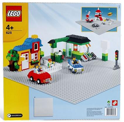 Детская игрушка Lego Bricks More  Базовая серая доска (628)
