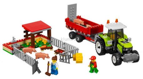 Детская игрушка Lego City Свиноферма и трактор (7684)