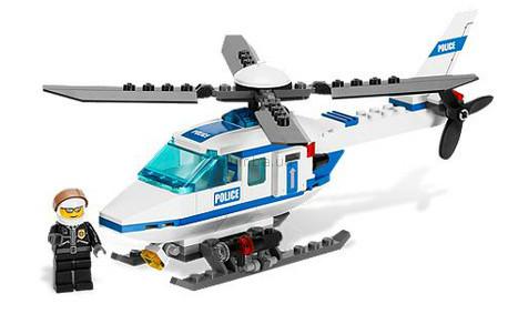 Детская игрушка Lego City Полицейский вертолет (7741)