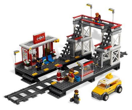 Детская игрушка Lego City Железнодорожная станция (7937)