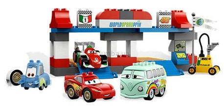 Детская игрушка Lego Duplo Cars 2 Пит - стоп (5829)