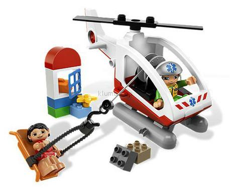 Детская игрушка Lego Duplo Вертолет скорой помощи (5794)