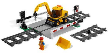 Детская игрушка Lego City Железнодорожный переезд (7936)