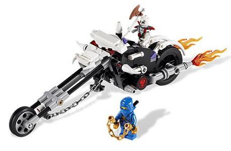 Детская игрушка Lego Ninjago Мотоцикл - Череп (2259)