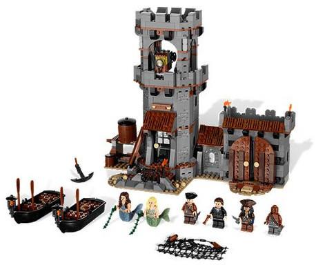 Детская игрушка Lego Pirates of the Caribbean Бухта белого мыса (4194)