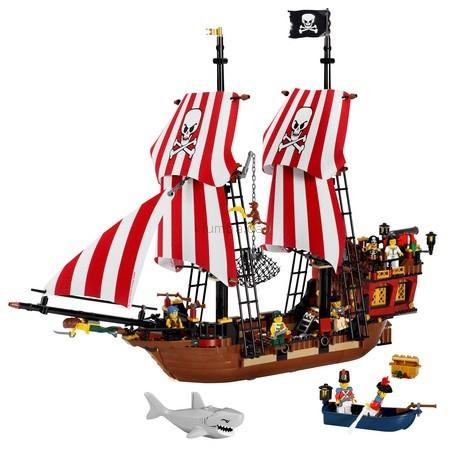 Детская игрушка Lego Pirates Корабль бородатого капитана (6243)